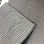 Amoebic Design Rubber Gym Mat 6ftx4ft (1.82 x 1.2cm) 18mm, 15mm, 12mm