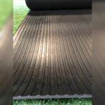 Wide Ribbed Rubber Flooring Rolls (Varies in Sizes) 1.5m wide x 5mm Horsebox flooring
