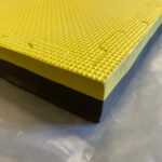 Eva Soft Gym Mats | Multi-Purpose EVA Foam Mat Yellow and Black 1mx1mx20mm & 40mm