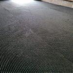 Hammer top rubber stable horse mat flooring  6'x4'x18mm